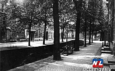Dubbel Delft - Oude Delft - achterkant Oude Kerk