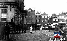 Dubbel Delft - markt op de Markt