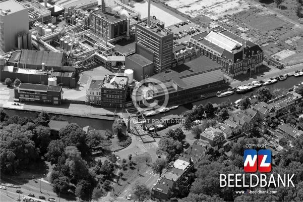 Dubbel Delft - Luchtfoto DSM / KNGSF -terrein